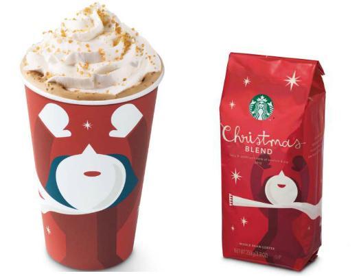 Фото №2 - Starbucks готовится к Рождеству
