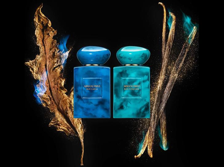 Фото №1 - Магия бирюзы и лазурита: новые ароматы Armani Prive