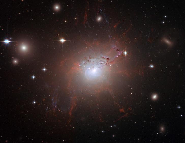 Фото №1 - Астрономы обнаружили галактику без темной материи