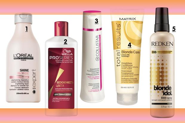Фото №1 - 10 средств для осветленных волос