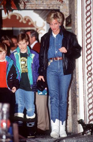 Фото №3 - Принцесса в джинсах: как Диана носила деним