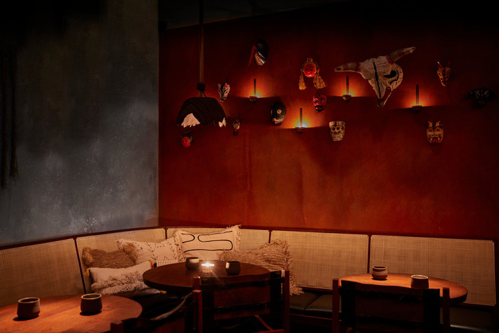 Фото №12 - Мексиканский ресторан в Лондоне по проекту A-nrd studio