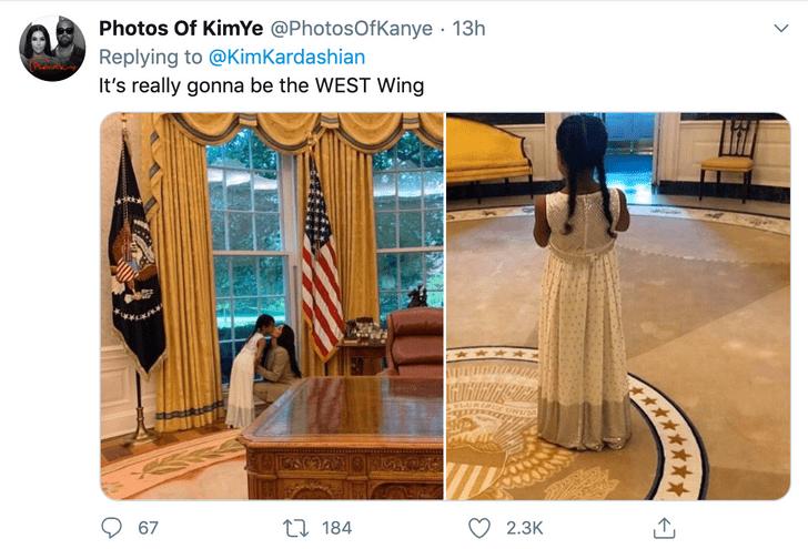 Фото №5 - В соцсетях представляют, как будет выглядеть Белый дом во время президентства Канье Уэста (галерея)