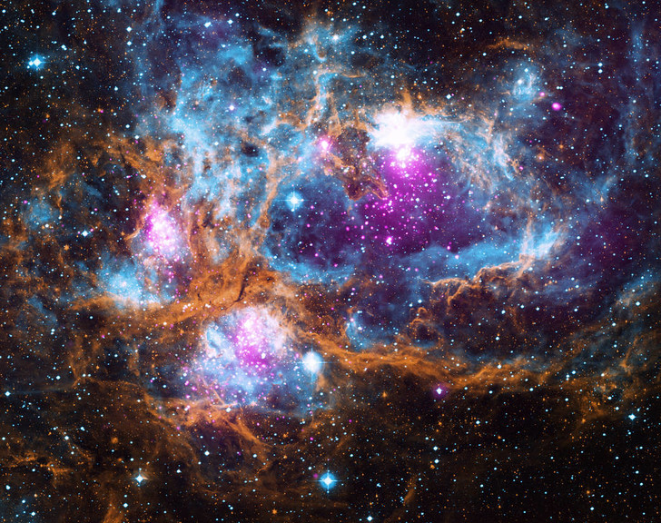 Фото №1 - В NASA показали космическую «страну чудес»