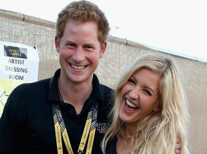 Фото №1 - Принц Гарри и Элли Голдинг: новая любовь или крепкая дружба?