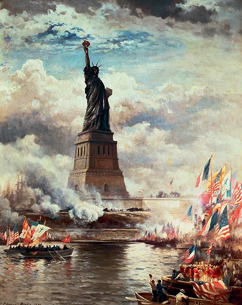 Фото №2 - История cтатуи Свободы в трех фотографиях
