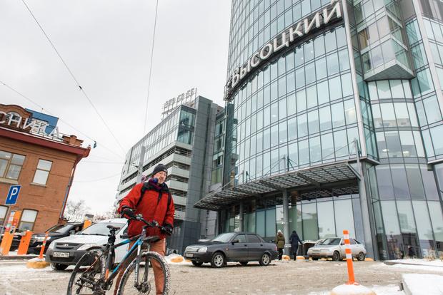 Фото №6 - Зимой по Екатеринбургу на велосипеде? Легко!