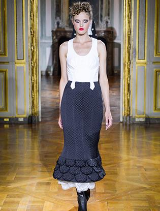 Фото №8 - Неделя Высокой моды в Париже: Ulyana Sergeenko Couture F2015