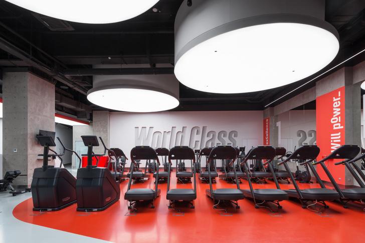 Фото №2 - Спортклуб World Class Алексеевская: проект VOX Architects