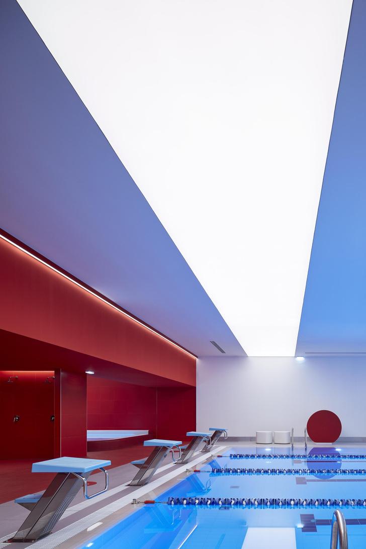 Фото №7 - Спортклуб World Class Алексеевская: проект VOX Architects
