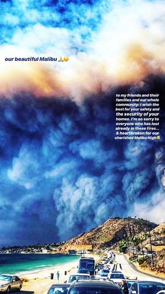 Фото №3 - Пожар в Калифорнии: дома знаменитостей превратились в пепелище