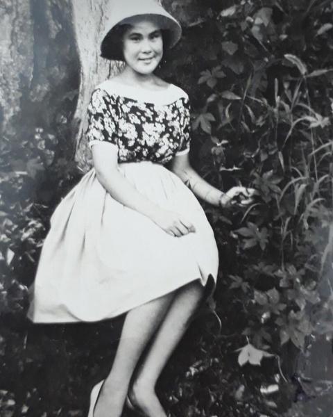 Чой Сун Хва в молодости