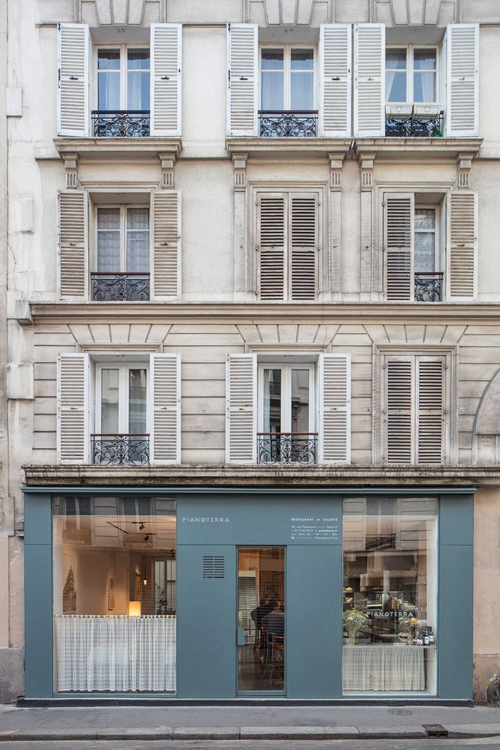 Фото №7 - Итальянский ресторан Pianoterra в Париже