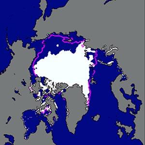Фото №1 - Арктического льда стало ещё меньше