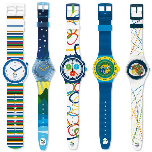 Фото №2 - Swatch покажет, который час в Рио