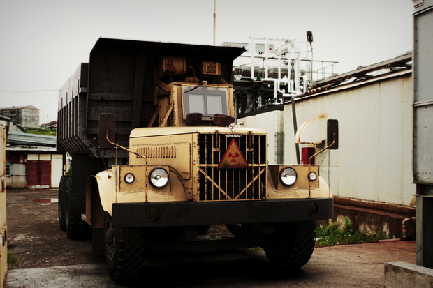 Фото №1 - Чернобыльский танк: советский грузовик для ликвидаторов