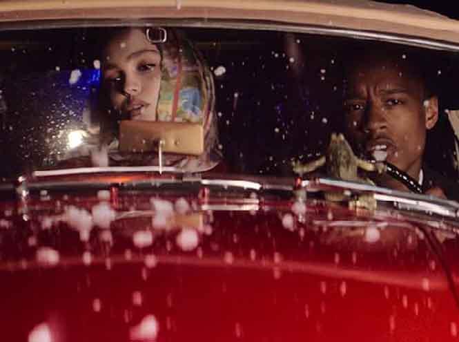 Фото №1 - Лили-Роуз Депп снялась в клипе Rejjie Snow