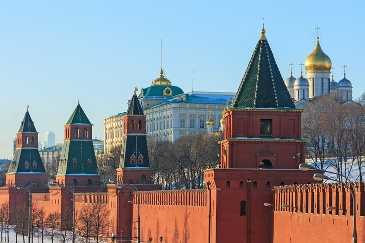 Фото №2 - Пять звезд: Московский Кремль в цифрах