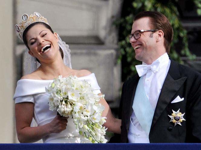 Фото №38 - Самые забавные моменты на королевских свадьбах (истории в фотографиях)