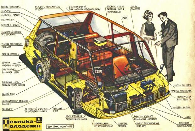 Фото №2 - Гениальное советское такси, которое не оценили