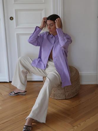 Фото №13 - Горная лаванда: 5 способов носить самый романтичный цвет