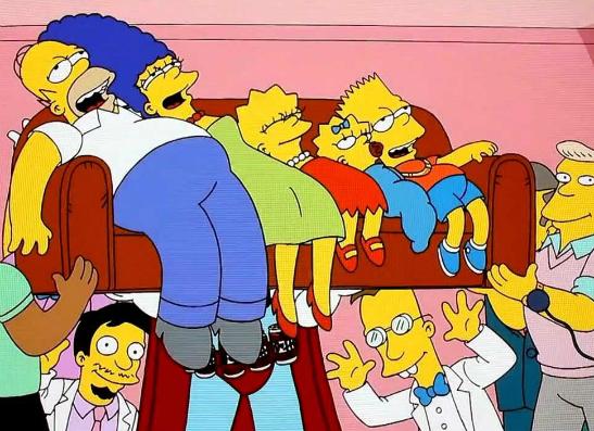 Фото №12 - 15 самых крутых пародий в «Симпсонах»