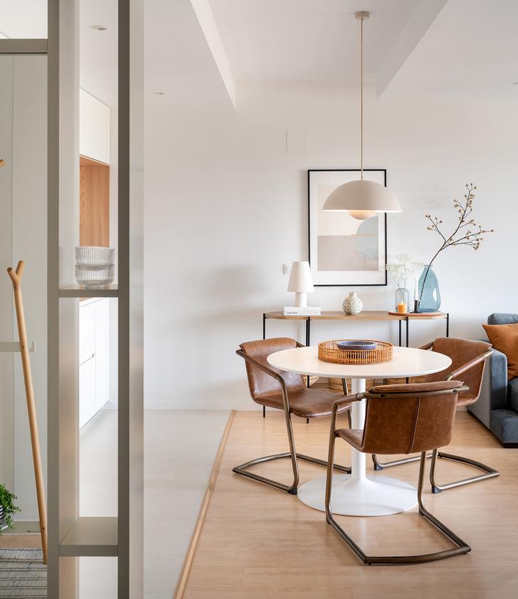 Фото №2 - Лаконичный интерьер квартиры в Стране Басков