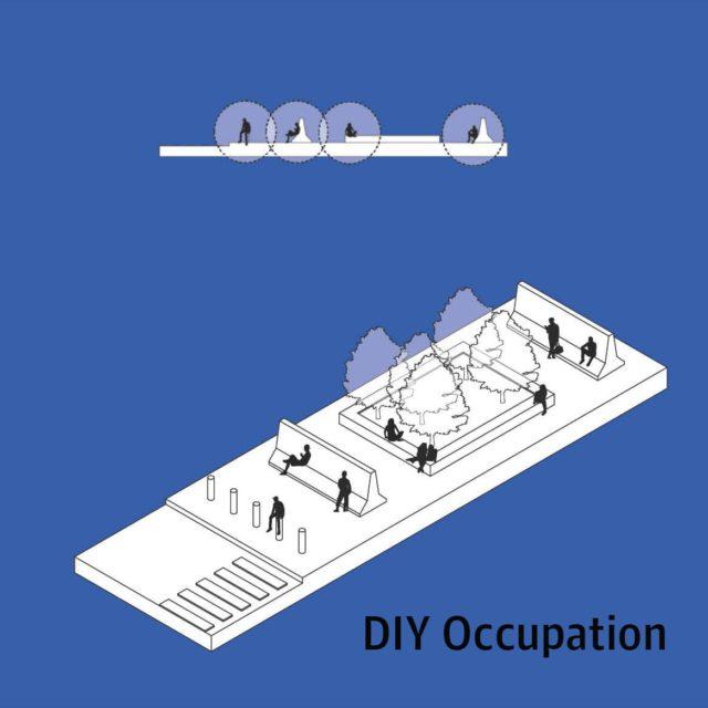Горожане в 100% случаев используют места отдыха не так, как предполагалось архитекторами: залезают с ногами, лежат и т.д.