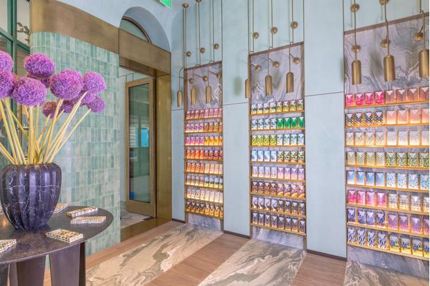 Фото №2 - Шоколадная фабрика: кондитерская Compartes по дизайну Келли Уэстлер