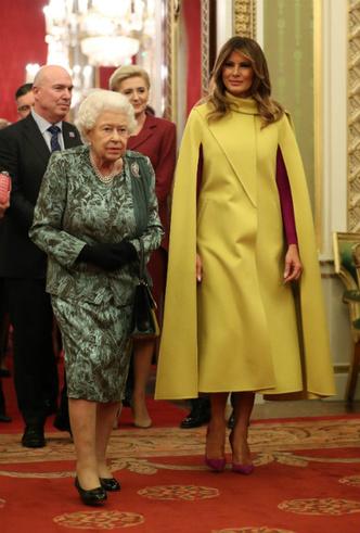 Фото №4 - Секреты Мелании: как Первая леди США выиграла модную битву у королевской семьи
