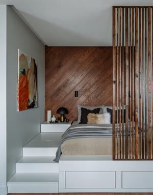 Фото №8 - Как уместить в однушке спальню, кабинет и гостиную: фото