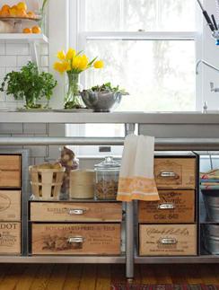 Система кухонного хранения