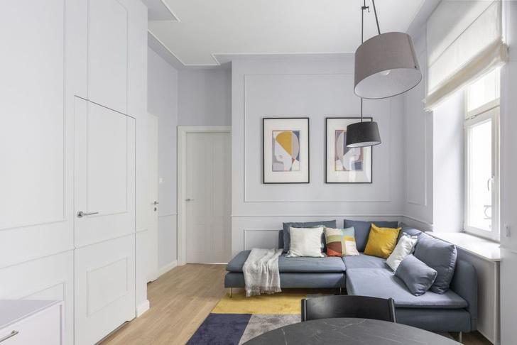 Фото №1 - Элегантная квартира 38 м² в Варшаве