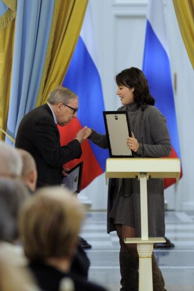 Фото №2 - Состоялось вручение премии правительства РФ в области печатных СМИ