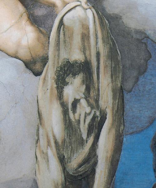 Фото №7 - Обидеть художника: 7 тайн «Страшного суда» Микеланджело