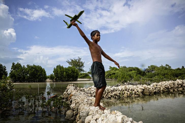 Фото №8 - Голубая бездна: как спасти Кирибати
