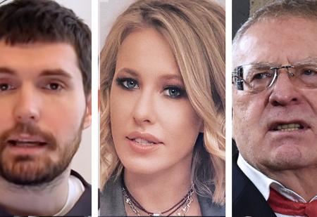 Noize MC, Дудь, Куценко, Собчак, Жириновский: как знаменитости отреагировали на арест Навального