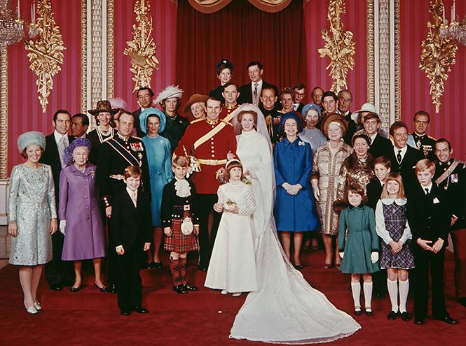 Фото №8 - Первая свадьба принцессы Анны: как выходила замуж дочь Елизаветы II