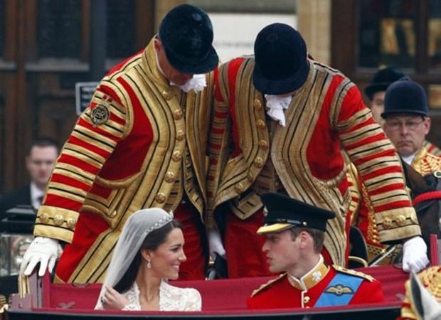 Фото №11 - Самые забавные моменты на королевских свадьбах (истории в фотографиях)