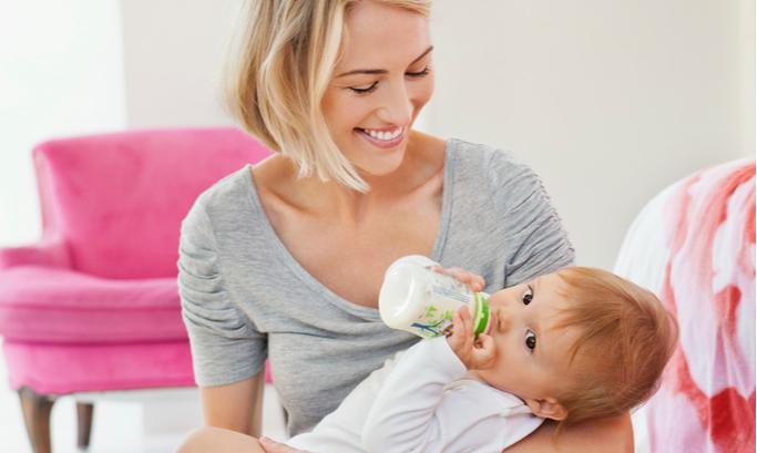 Как приготовить молочную смесь для грудничка