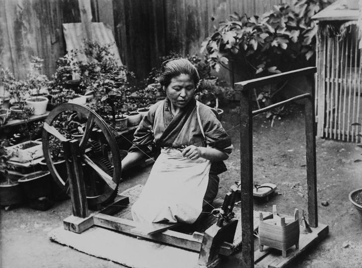 Фото №1 - Раскрыт секрет изготовления «охлаждающей» японской ткани