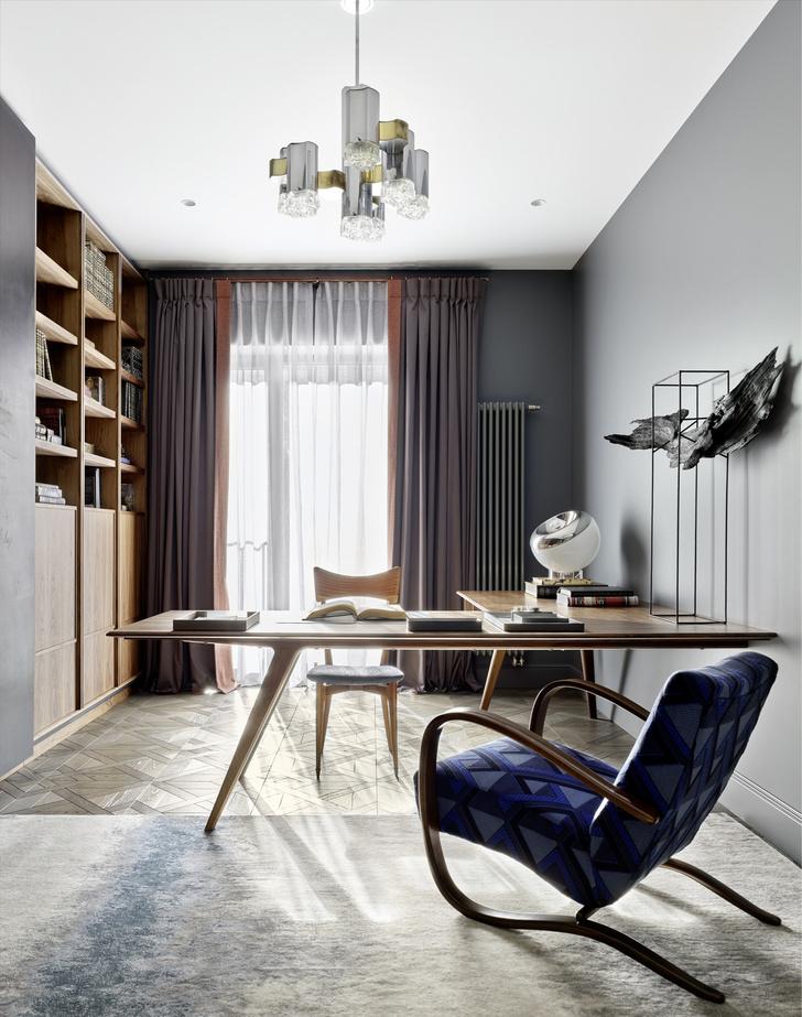 Фото №7 - Двухэтажная квартира «на Патриках»: проект Аллы Шумейко