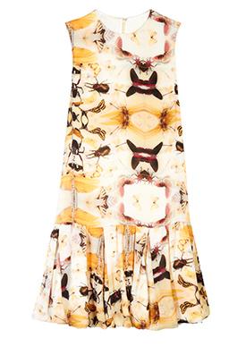 Фото №2 - Вещь дня: Платье Asos с принтом из насекомых