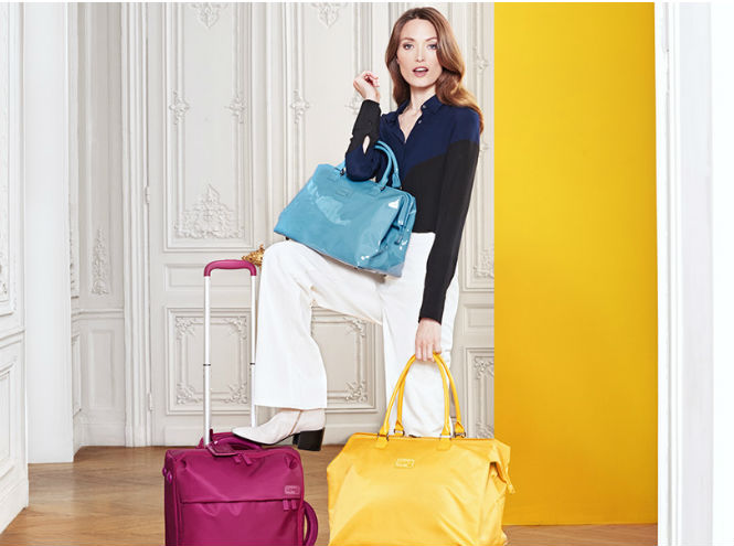 Фото №1 - Взрыв красок Lipault: новая коллекция багажа и сумок
