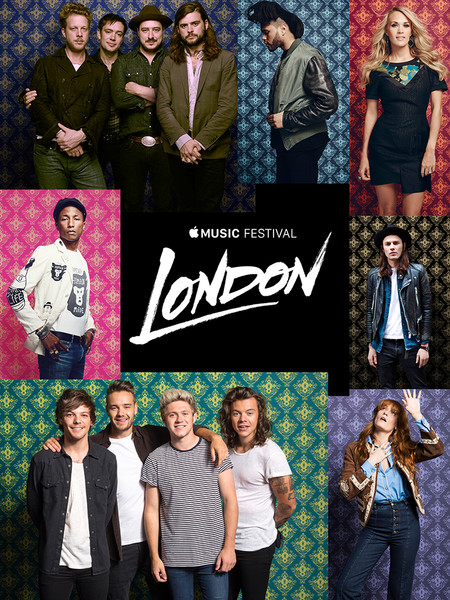 Фото №2 - Не пропусти Apple Music Festival: 1D, Little Mix и другие звезды