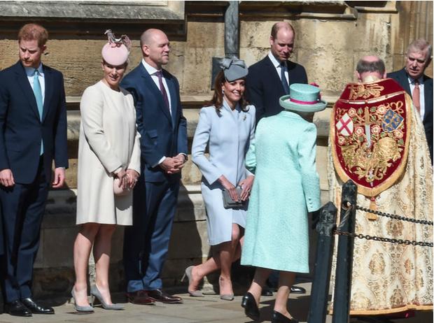 Фото №2 - Герцогиня Кейт восстанавливает мир между Уильямом и Гарри