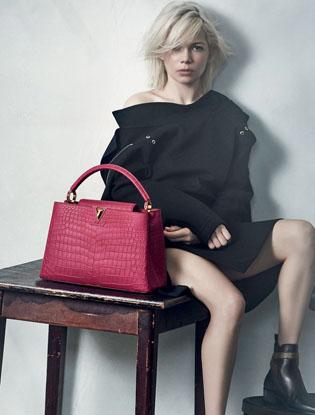 Фото №3 - Мишель Уилльямс в новой рекламной кампании Louis Vuitton