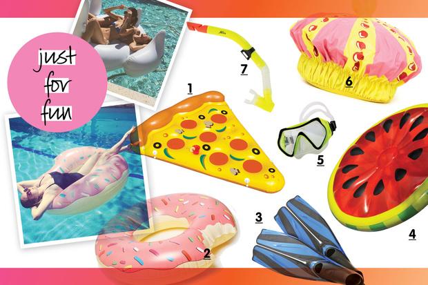 Фото №9 - Что взять с собой на пляж и в бассейн?