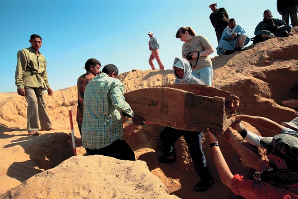 Фото №1 - Золото фаюмских мумий