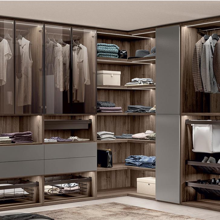 Фото №4 - Первая гардеробная система от Scavolini